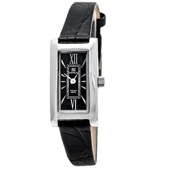 Серебряные часы Часовой завод Ника