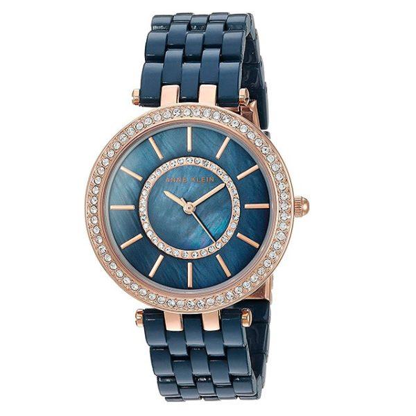 Часы Anne Klein 2620NVRG Crystal Фото 1
