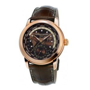 Часы Frederique Constant Worldtimer FC-718BRWM4H4 Фото 1