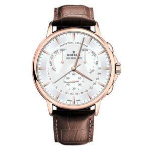Часы Edox 01602-37RAIR Les Bemonts Perpetual Calendar Фото 1