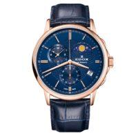 Часы Edox 01651-37RBUIR Les Bemonts Chronograph Moon Phase Фото 1