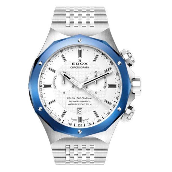 Часы Edox 10108-3BUAIN Delfin Chronograph Фото 1