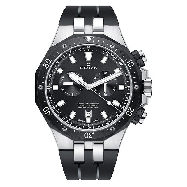 Часы Edox 10109-357NCANIN Delfin Chronograph Фото 1