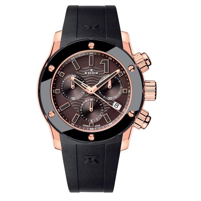 Часы Edox 10225-37RBRIR Chronoffshore 1 Chronolady Фото 1