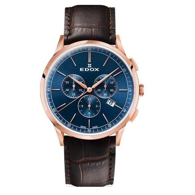 Часы Edox 10236-37RCBUIR Les Vauberts Фото 1