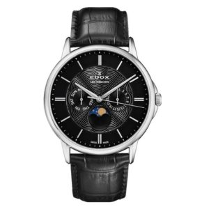 Часы Edox 40002-3NIN Les Bemonts Moon Phase Фото 1