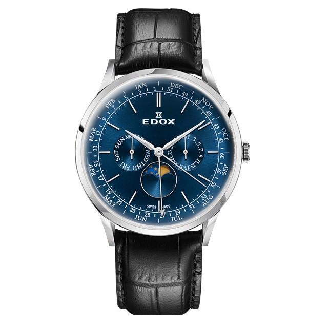 Часы Edox 40101-3CBUIN Les Vauberts Complication Фото 1