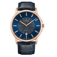 Часы Edox 56001-37RBUIR Les Bemonts Ultra Slim Фото 1