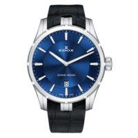 Часы Edox 56002-3CBUIN Grand Ocean Slim Line Date Фото 1