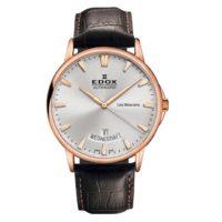 Часы Edox 83015-37RBIR Les Bemonts Day Date Automatic Фото 1