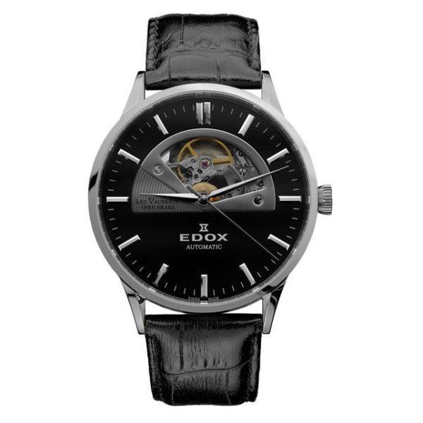 Часы Edox 85014-3NIN Les Vauberts Open Heart Automatic Фото 1