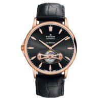 Часы Edox 85021-37RNIR Les Bemonts Open Heart Automatic Фото 1