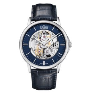 Часы Edox 85300-3BUIN Les Bemonts Skeleton Фото 1