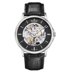 Часы Edox 85300-3NIN Les Bemonts Skeleton Фото 1