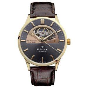 Часы Edox Les Vauberts Open Heart 85014-37RGIR Фото 1