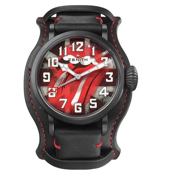 Zenith Pilot Type 20 GMT Tribute to the Rolling Stones 96.2439.693/77.C809 Фото 1