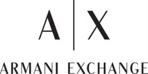 armani exchange логотип