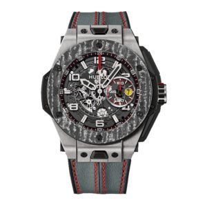 Hublot Big Bang Ferrari Titanium Carbon 401.NJ.0123.VR Фото 1