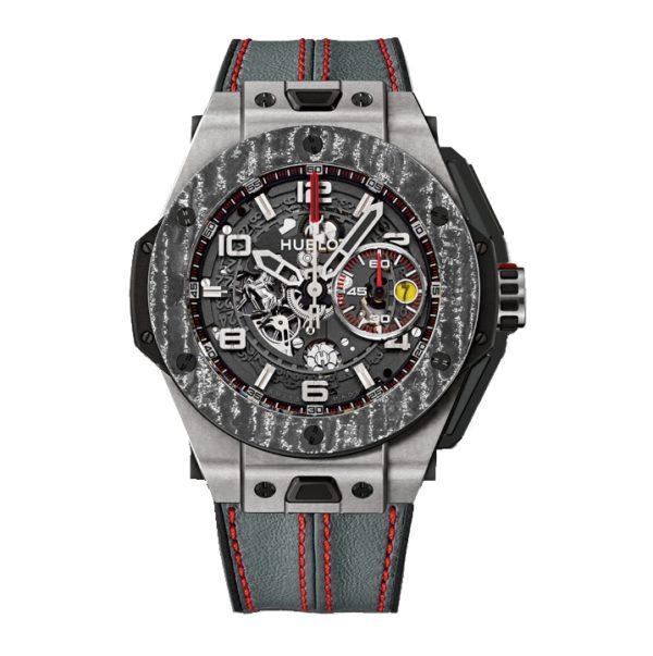 Hublot Big Bang Ferrari Titanium Carbon 401.NJ.0123.VR Фото 1