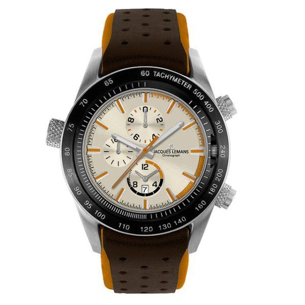 Jacques Lemans 1-1515D Sport Turnable Dualtime Chronograph Фото 1