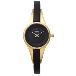 Obaku V110LXGBRB Leather
