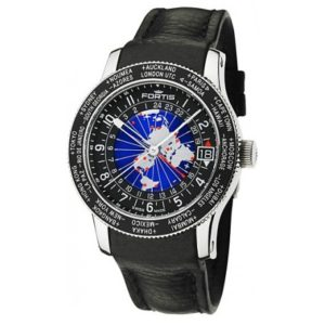 Fortis 674.21.11 L.01 B-47 World Timer GMT Фото 1