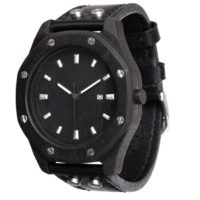 AA Watches S5-Black-Date Octagon