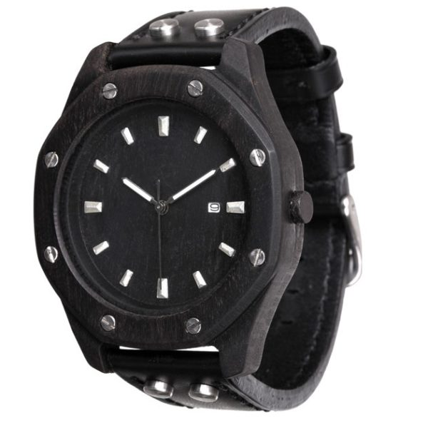 AA Watches S5-Black-Date Octagon Фото 1