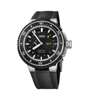 Oris 748-7748-71-54RS ProDiver GMT Фото 1