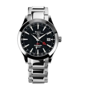 BALL GM2026C-SCJ-BK Engineer II Chronometer Red Label GMT