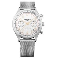 William L. WLAC01BCORMM Vintage Style Chronograph Фото 1