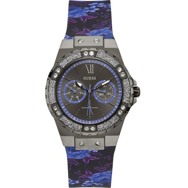 Guess W1053L8 Sport Steel Limelight Фото 1