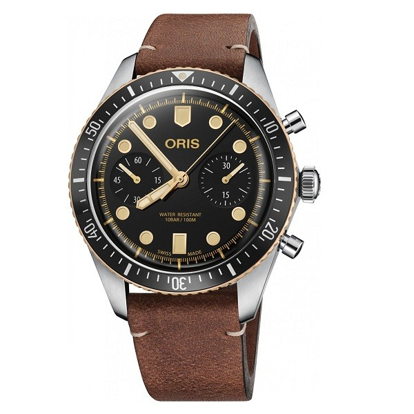Oris 771-7744-43-54LS Divers Sixty-Five Chronograph Фото 1