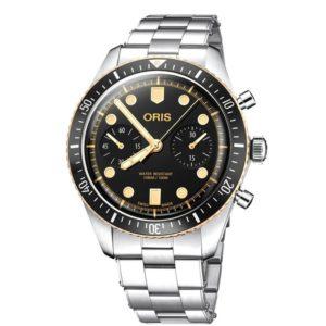 Oris 771-7744-43-54MB Divers Sixty-Five Chronograph