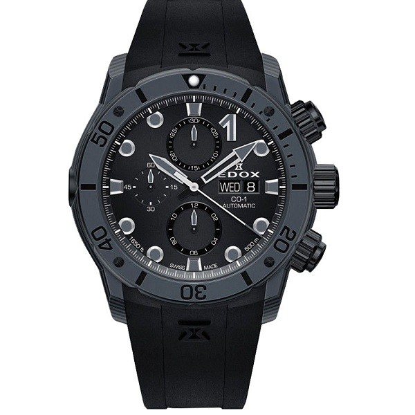 Edox 01125-CLNGNNING Chronoffshore-1 Carbon Automatic фото 1