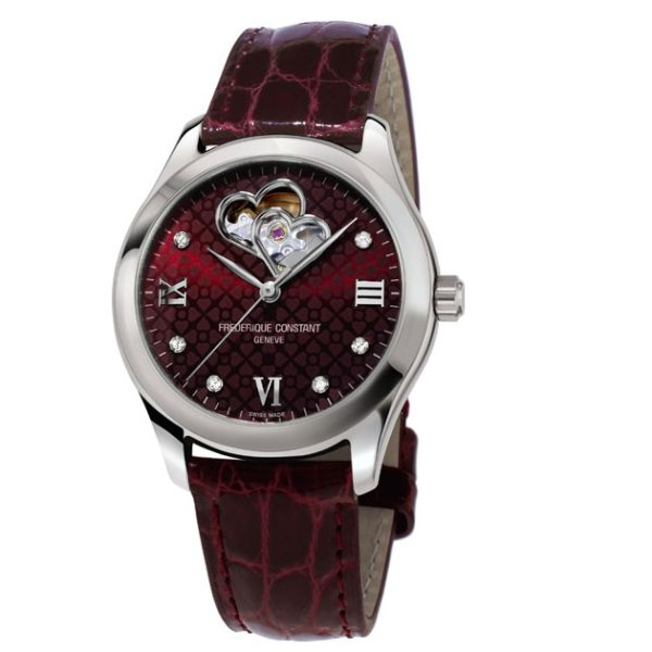 Frederique Constant FC-310BRGDHB3B6 Ladies Automatic Double Heart Beat Фото 1