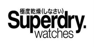 часы Superdry логотип