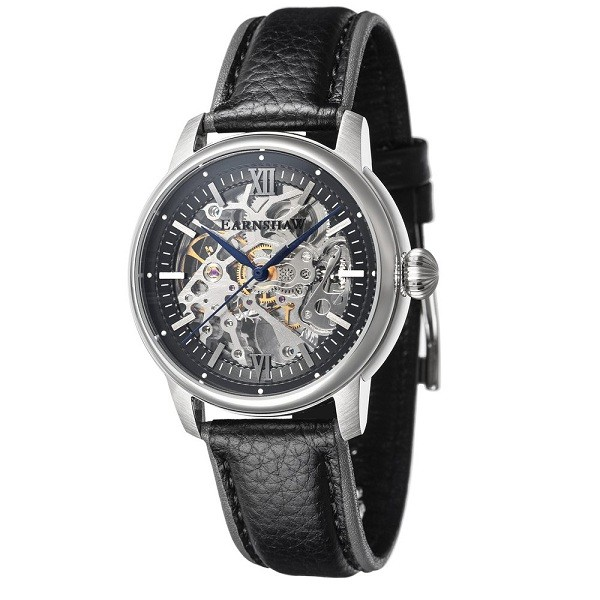Earnshaw ES-8110-01 Cornwall Skeleton Automatic Фото 1