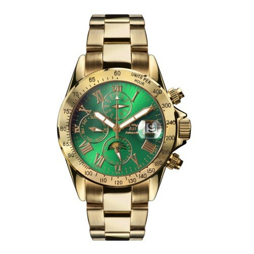 Andre Belfort AB-8110_GOLD_SMARAGD Le Capitaine Фото 1