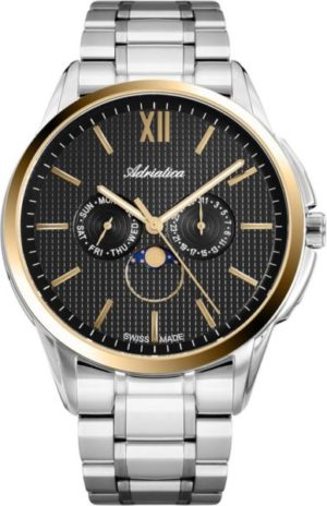 Adriatica A8283.2166QF Moonphase for him