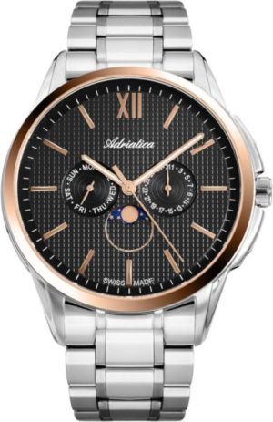 Adriatica A8283.R166QF Moonphase for him