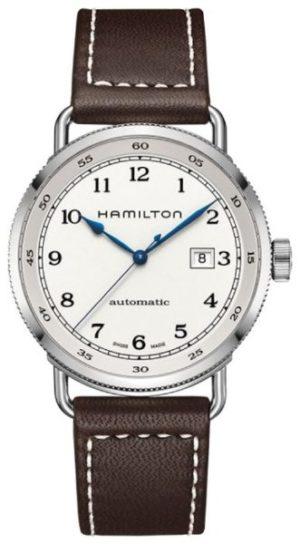 Hamilton H77715553 Khaki Navy Pioneer