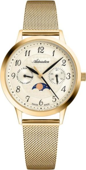 Adriatica A3174.1121QF Moonphase for her