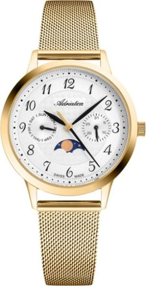 Adriatica A3174.1123QF Moonphase for her