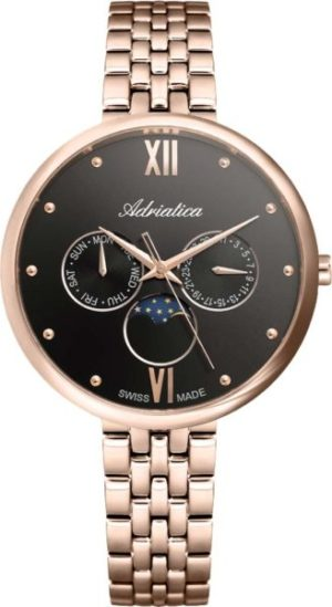 Adriatica A3733.R186QF Moonphase for her