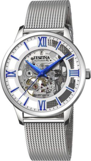 Festina F20534/1 Skeleton Automatic