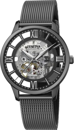 Festina F20535/1 Skeleton Automatic