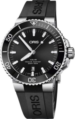 Oris 733-7730-41-34RS Aquis Date