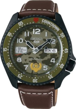 Seiko SRPF21K1 5 Sports Street Fighter V Guile Limited Edition
