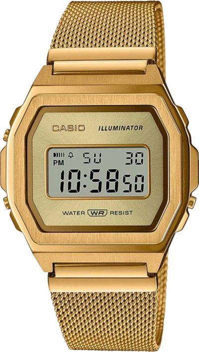 Женские часы Casio A1000MG-9EF фото 1